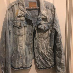 Sanctuary Jackets & Coats - Sanctuary Milkyway Walker Denim & Patches Jacket